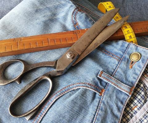 Knöpfe für Individuelle Maß Jeans